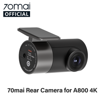 70mai Rear Cam Only for 70mai 4K Dash Cam A800 70mai 4K Car DVR A800 Rearview cam image