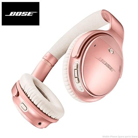 Fones de Ouvido Fone de Ouvido com Cancelamento Esporte com Microfone Anc sem Fio Bose Original Quietcomfort Bluetooth Baixo Ruído Voz 35 ii Mod. 1458309