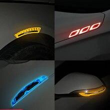 Светоотражающие полосы из углеродного волокна для зеркала заднего