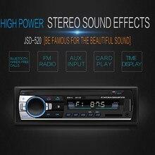 Автомобильный JSD-520 Автомобильный MP3-плеер радио U диск SD Карта BT музыкальный телефон Замена CD/DVD Автомобильные аксессуары для автомобиля