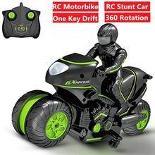 Rc трюк мотоцикл rc dirft автомобиль электрический мини пульт