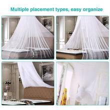 Redonda cama do bebê mosquito rede 60*250*900cm cúpula pendurado algodão cama dossel cortina para rede bebê crianças dossel p82c