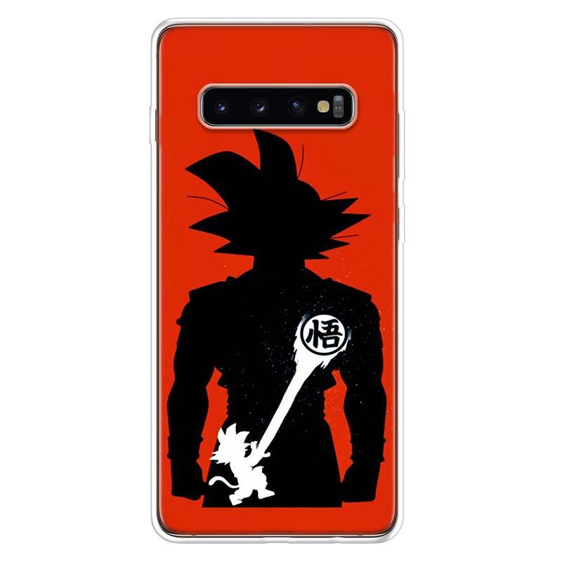 Dragon Ball Anime Case For Samsung Galaxy S10 S20 Ultra Lite NOTE 10 9 8 S9 S8 + S7 Edge J4 J6 J8 2018 Plus Phone Coque