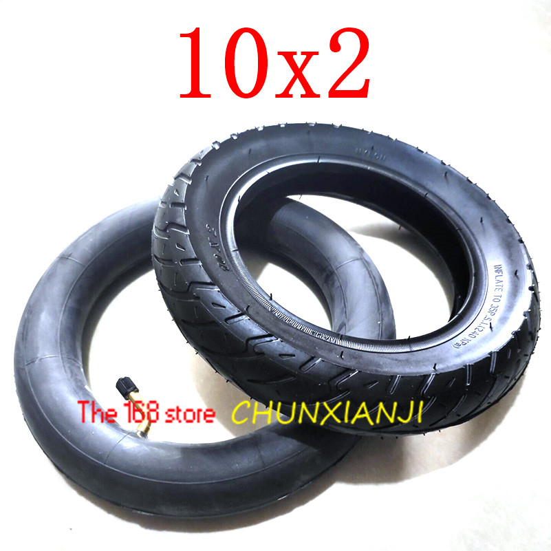 Image 2 - Size 10x2 Tube Tyre Bike  Heavy Duty 10 * 2 Tyre Inner Tube for Bike Tricycle Baby Stroller 3 Wheel Bicycle-in Tyres from Automobiles & Motorcycles