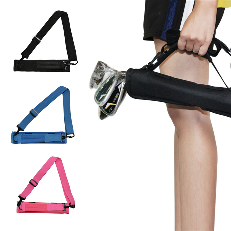 Golf Club Carrier Bag Driving Range Travel Gfit Color Black Blue Pink For Kids Men Women Value Pack