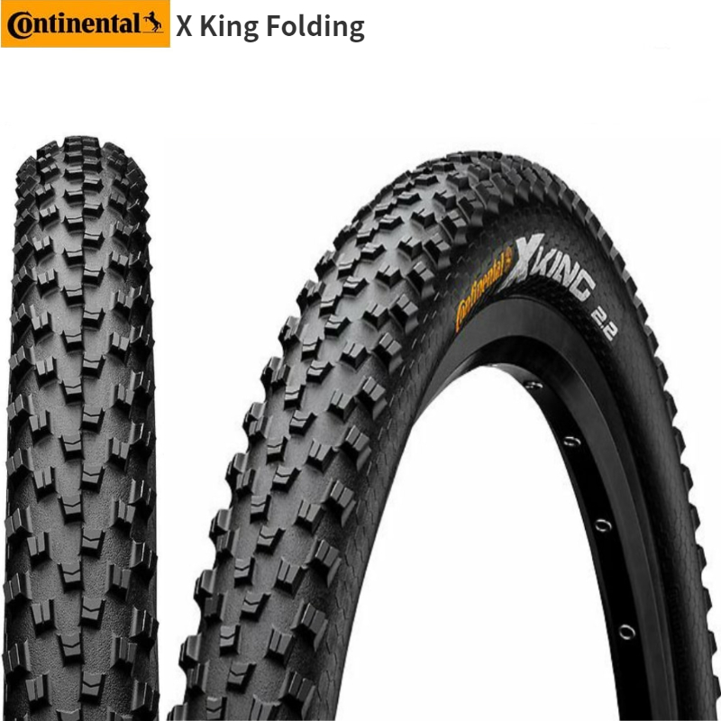 Continental X King MTB Tire <font><b>26x2.2</b></font> Tire Mountain bike tire Bicycle tire image