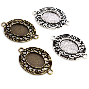 10pcs 13x18mm Inner Size Antique Silver Plated Bronze Simple Style Cameo Cabochon Base Setting Charms Pendant Necklace Findings 3pcs 18x25mm inner size antique silver brooch pin classic style cameo cabochon base setting c2 30