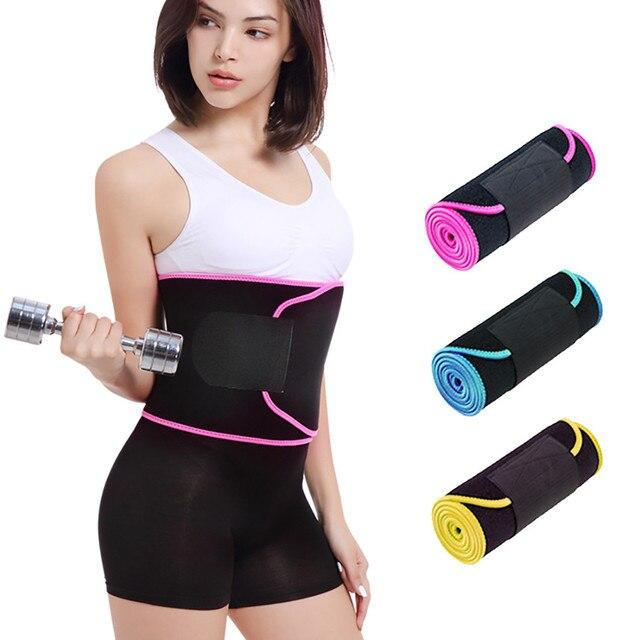 Neoprene Waist Trainer Belt Unisex Body Shaper Suit Sweat Belt Premium Waist Trimmer Corset Shapewear Slimming Vest Underbust