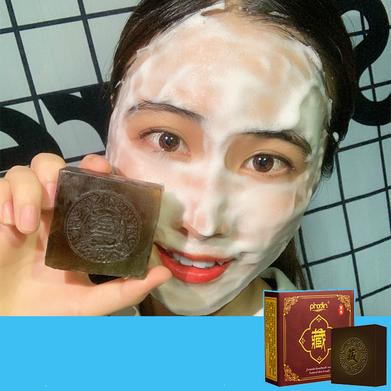 Soap Whitening, Acne Removal  Blackhead Acne Printing, Contraction Pores, Hand-made Essential Oil Soap Male And Female Students