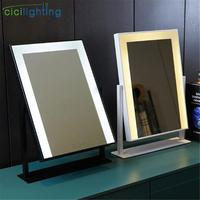Mirror included, Led Vanity Mirror Lights, Hollywood Vanity Make Up Light, dimmable touch control black white gold desk lamp