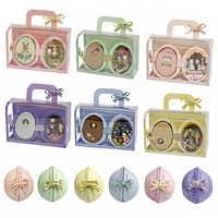 Bricolaje muebles de Casa de muñecas Miniaturas de madera miniatura caja de Casa de muñecas juguetes para niños regalos de cumpleaños Casa semilla mundo R3