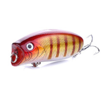 8 Colors Fishing Popper Lure 1 pcs Topwater Bait 5.5cm 11g Artificial Hard