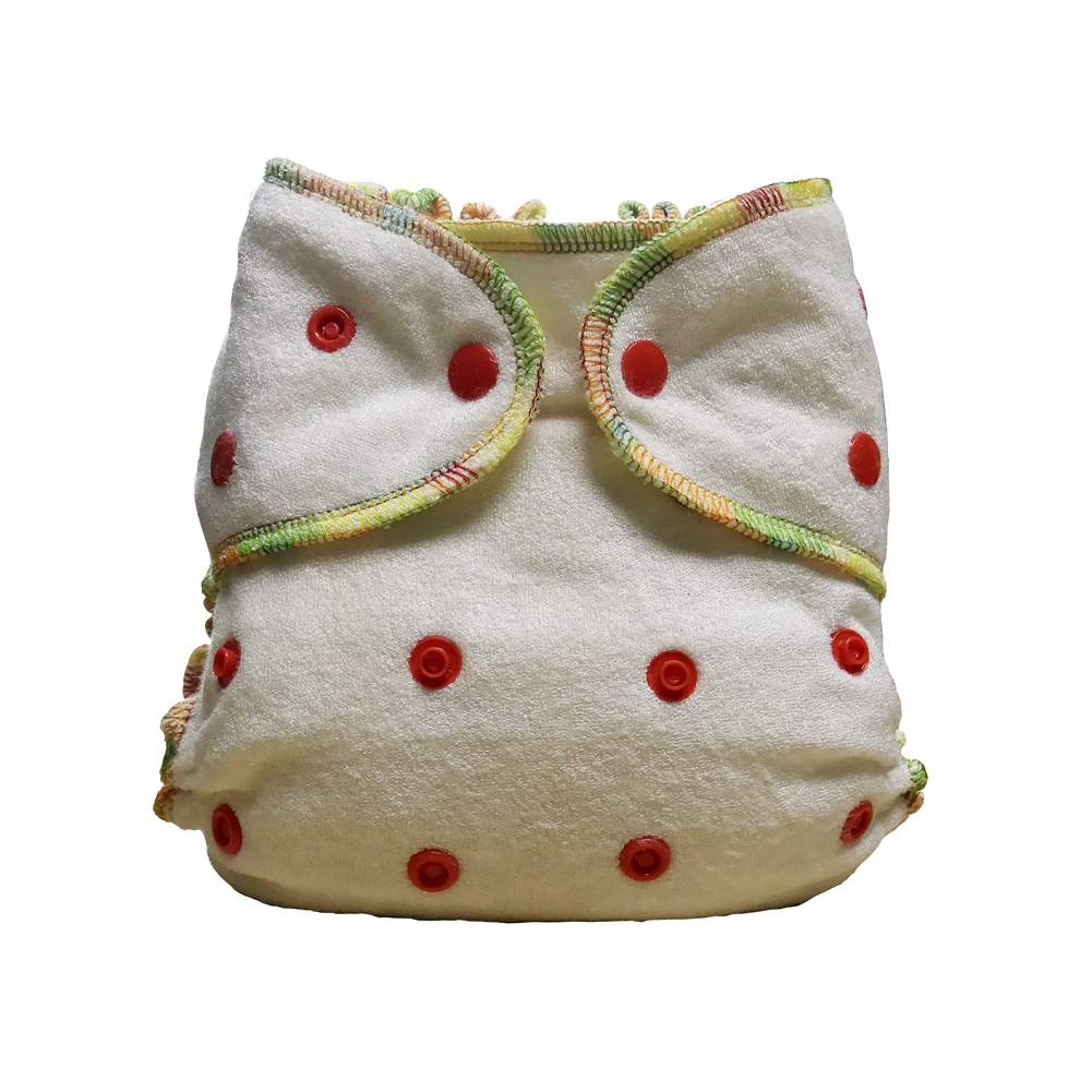 Natural Bamboo Cloth Diapers Baby Couche Lavable Cloth Diaper Reusable Nappies Aio Diaper