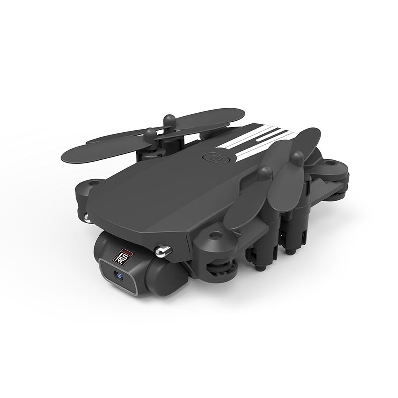 XKJ 2020 New Mini Drone 4K 1080P HD Camera WiFi Fpv Air Pressure Altitude Hold Black And Gray Foldable Quadcopter RC Dron Toy 2