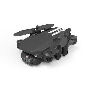 Image 2 - XKJ 2020 New Mini Drone 4K 1080P HD Camera WiFi Fpv Air Pressure Altitude Hold Black And Gray Foldable Quadcopter RC Dron Toy