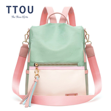 fashion lady bag anti-theft women backpack hight quality can