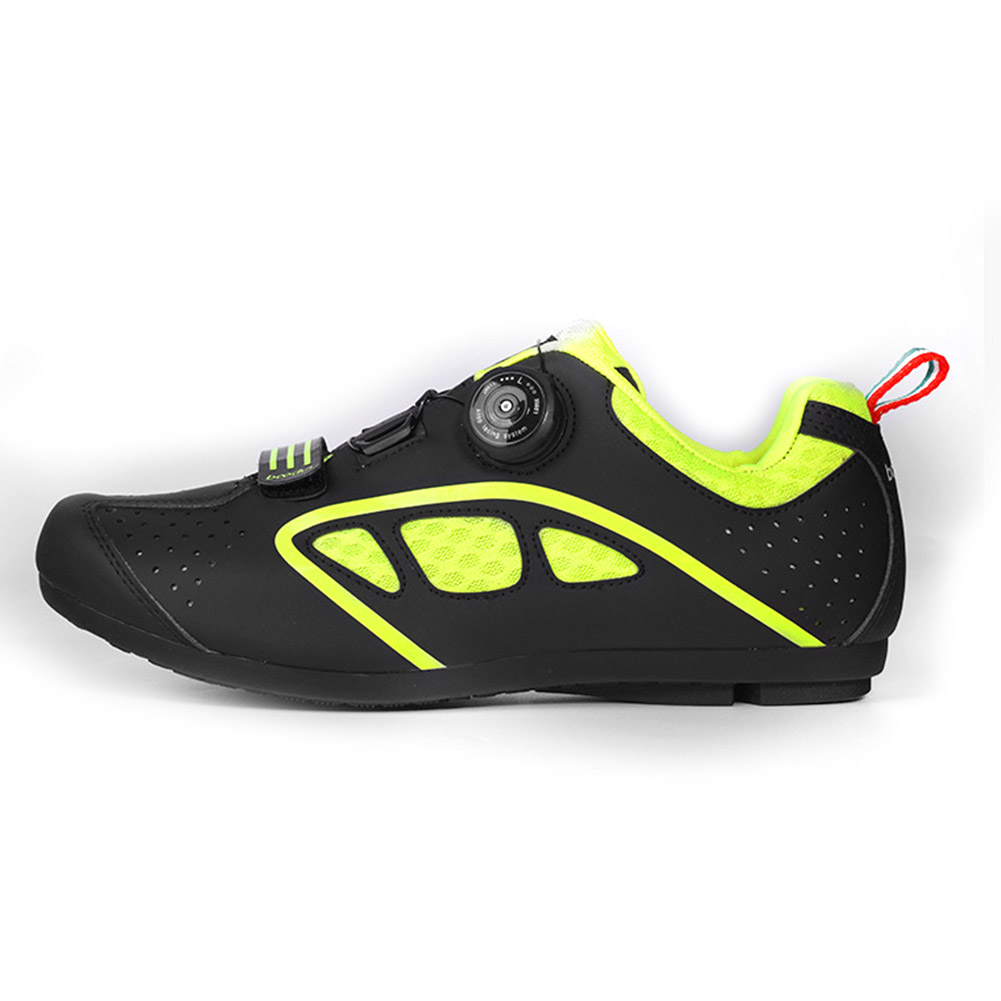 Men Outdoor Cycling Shoes Road Bike Shoes Non-Locking Breathable Leisure Shoe Sports Sneakers ZJ55