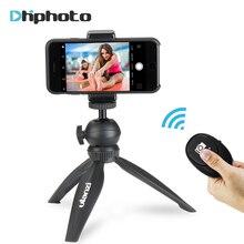 Ulanzi מיני חצובה עבור טלפון, נסיעות חצובה עם נתיק Ballhead עבור iPhone סמסונג Canon ניקון GoPro 6 חלק ש חלק 4 DJI