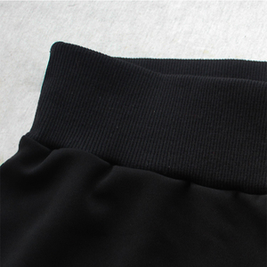 Image 5 - UUG גדול גודל נשים של ישר מכנסיים סתיו אלסטיות גבוהה מותניים מכנסיים בתוספת גודל 4xl 3XL XXL גבירותיי מכנסיים שחור אביב מכנסיים