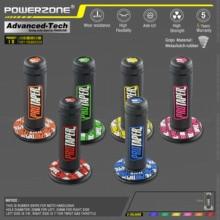 """MX gel like для 7/"""" Руль светло-голубые резиновые ручки для мотоцикла supermoto питбайк dirt pit bike"""