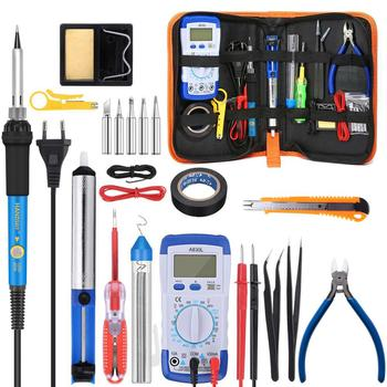 60W to 90W Electric Soldering Iron Kit with Temperature Disordering Pump