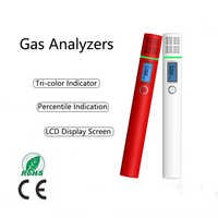 Gas Analyzer Combustible Gas Detector Port Flammable Natural Gas Leak Location Determine Meter Tester Portable Air Quality Test