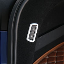 1 шт хромированная накладка на заднюю крышку багажника для maserati