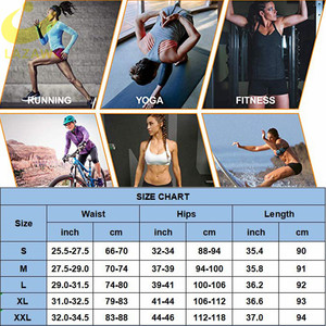 Image 5 - Lazawg Vrouwen Sauna Gewichtsverlies Zweet Controle Pant Afslanken Neopreen Hot Leggings Slim Fitness Workout Hot Thermo Zweet Leggings