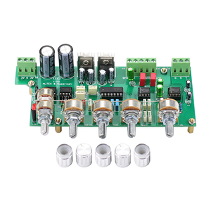 Image 2 - GHXAMP 2.1 ซับวูฟเฟอร์ Preamplifier NE5532 Preamp TONE ควบคุม 3 ช่อง TL072 TREBLE เบส
