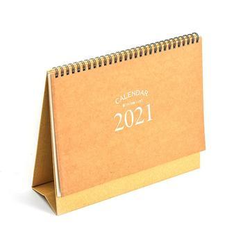 2021 Desk Calendar Desktop Tearable Note Coil Calendar Desk Desk Notepad Large Desk Calendar 1
