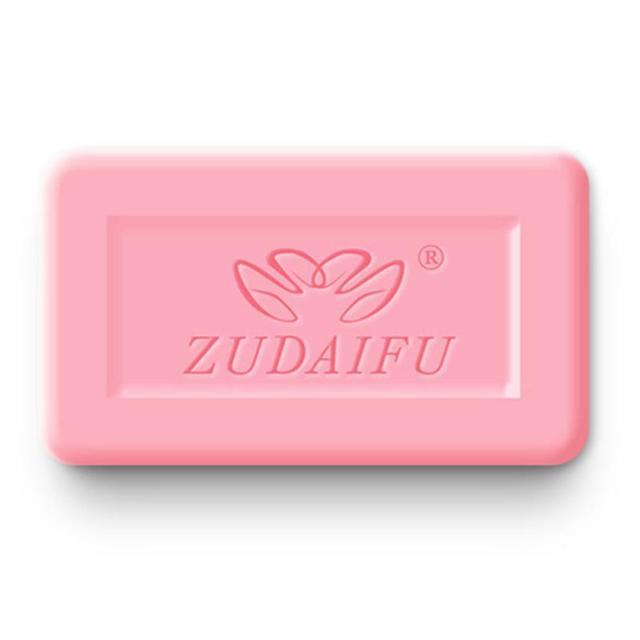 NEW zudaifu 7g Sulfur Soap Skin Cleaning soap base Acne savon rose fleur whitening soap gift set mini soap Removal Pimple TSLM1 2