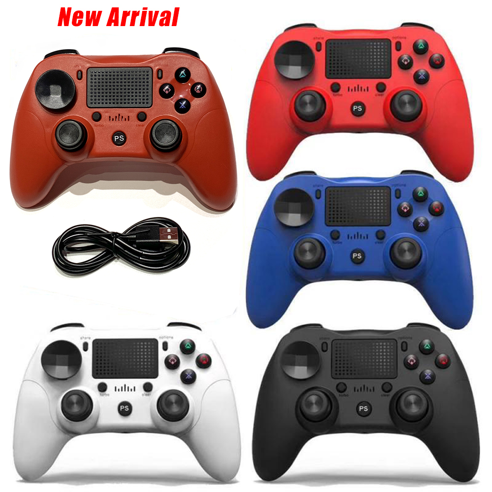 For Wireless Gamepad Controller For Playstation Dualshock PS4 4 Bluetooth Joystick Gamepads for PS4/PS4 Pro Silm PC game(China)