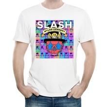 Tees Slash Tshirt-Band Short-Sleeve Saul White-Color Tops Logo Groupies The Hudson