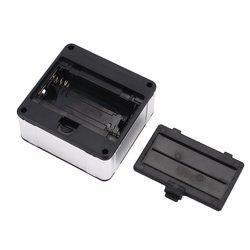Kątomierz elektroniczny inklinometr cyfrowy miernik nachylenia miernik magnesy baza narzędzie pomiarowe 0 360 stopu aluminium cyfrowy skos Box w Kątomierze od Narzędzia na