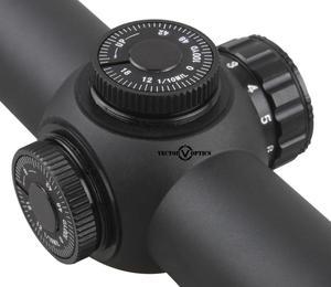 Image 4 - Wektor optyka Thanator 1 8x24 CQB długi luneta Rifle Scope 1/10 MIL niski profil wieżyczka podświetlana kropka Retile z mocowaniem 30mm