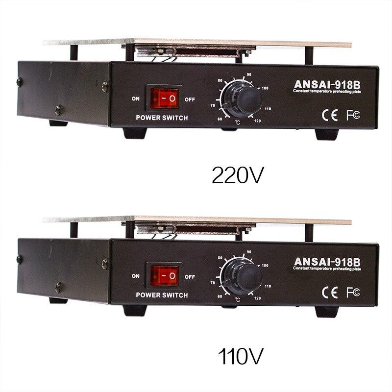 110V US   220V EU LCD Screen Separator Heating Platform Plate Glass Removal Phone Repair Machine Auto Heat Smooth Plate Station
