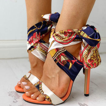 Stylish High Heels Sandals /  Sexy Stiletto Shoes 5