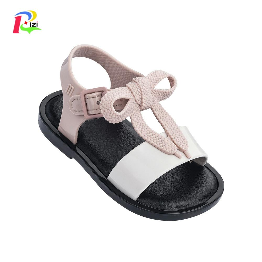 Mini Melissa 2019 New Summer Girls Boys Jelly  Shoes Girl Sandals Non-slip Kids Beach Sandal Toddler Shoe Soft Sandals