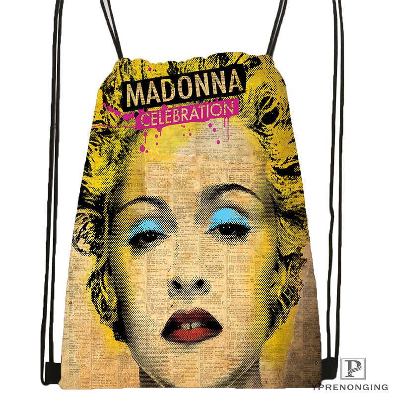 De Madonna mochila bolsa mochila niños bolso (negro) x 31x40cm #180531-02-59