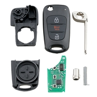 Chave remota inteligente 3 botões do carro apto para kia sportage alma 2010-2013 315mhz