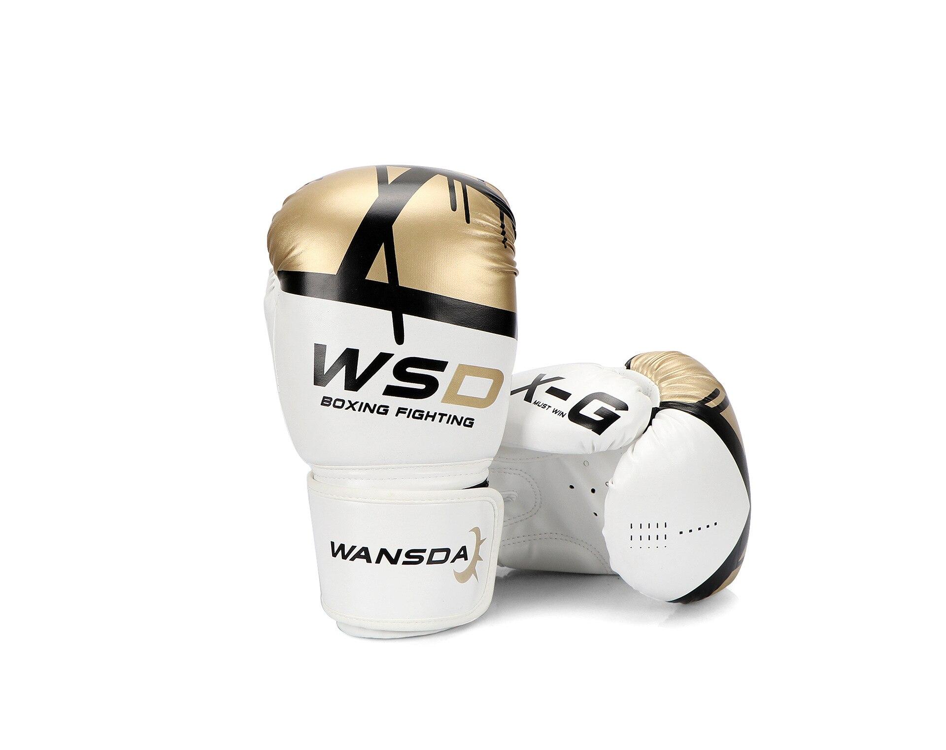 2019 nouveaux adultes chauds femmes/hommes gants De Boxe en cuir MMA Muay Thai Boxe De Luva mitaines Sanda équipements De gymnastique
