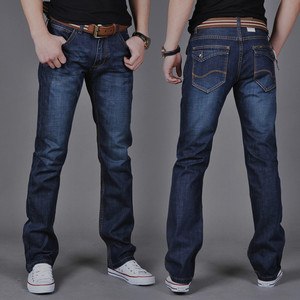 Hot Selling Men Jeans Casual Straight Sl