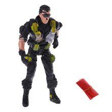 9 см десантники парашют солдаты дети дети на открытом воздухе спорт рука бросок игрушка