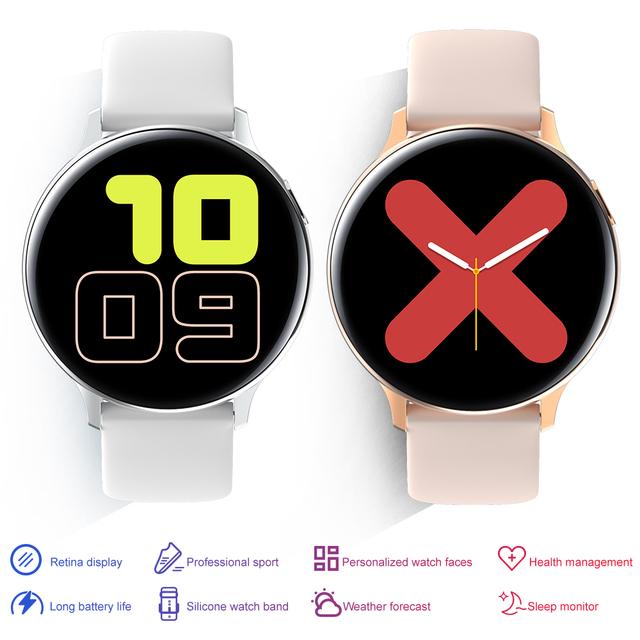 IP68 Waterproof Smart Watch Men Women Smartwatch Bracelet Fitness Activity Tracker Wearable Devices Heart Rate Monitor Band