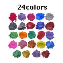 24/30/52 Colors Healthy Natural Mineral Mica Powder DIY For Soap Dye Colorant Makeup Eyeshadow Skin Care