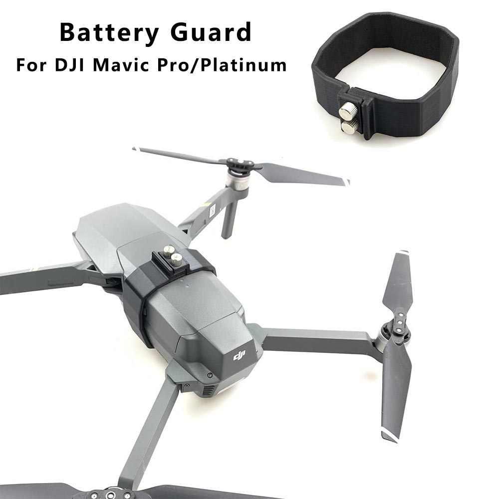 Flight Battery Buckle Fuselage Protective Mount For Dji Mavic Pro Platinum Drones Anti Slip Strap Protector Safety Locker Guard Drone Batterys Aliexpress
