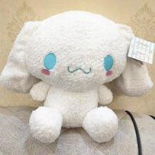 Big White Dog Plush Toys Cute Cartoon Doll Stuffed Animal Soft Doll Kids Birthday Gift Cartoon Anime Toy