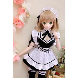 [wamami] Maid Dress For 1/4 MSD 1/3 SD DD AOD LUTS VOLKS Doll Dollfie Outfits