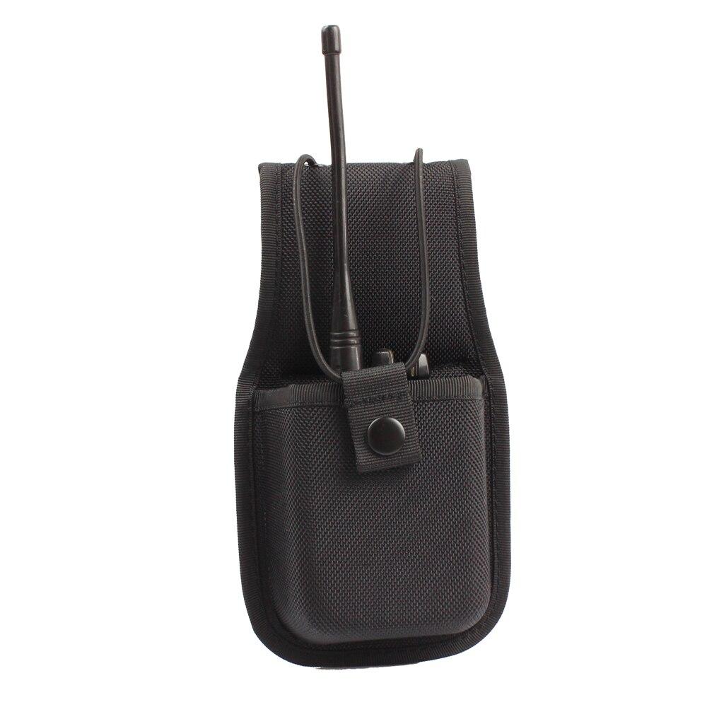 DiscountαHolster Molded Radio-Holder Universal Nylon for Duty-Belt Heavy-Duty