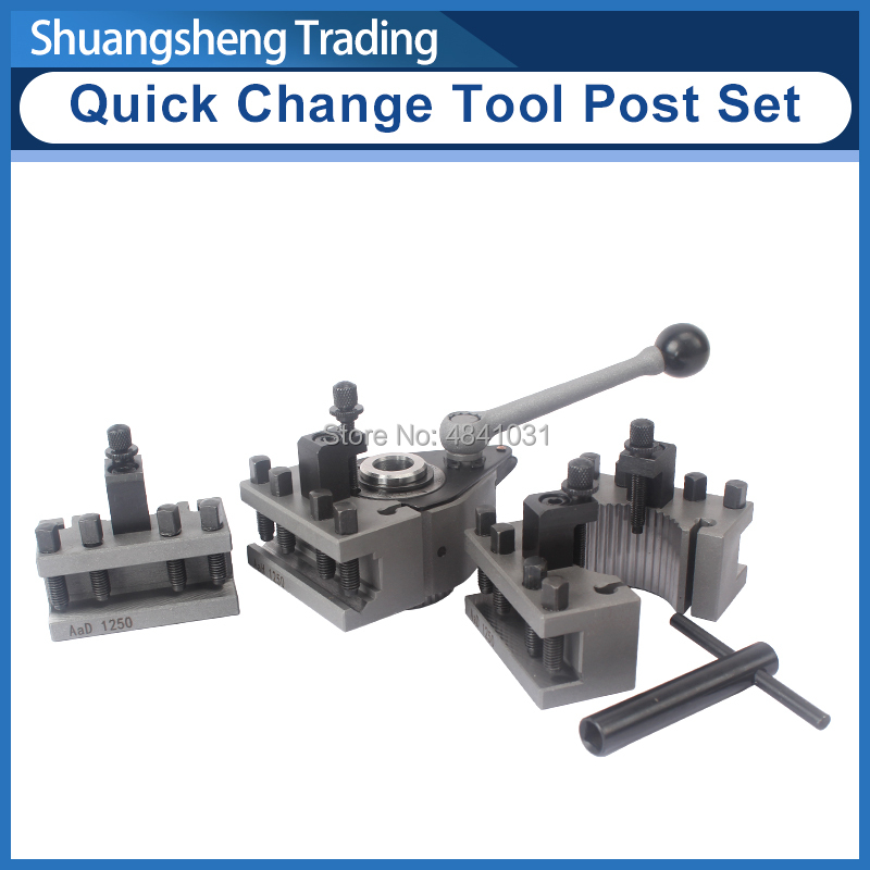 Post-Set Rest Lathe Quick-Change-Tool WM210V 0618 for Swing Over-Bed-120-220mm 12x12mm-Tool